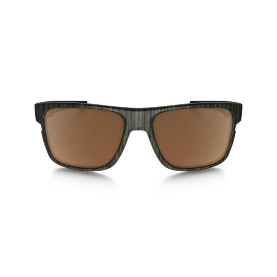 Crossrange Men's Square-Frame woodgrain prizm polarized sunglasses
