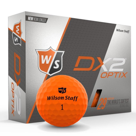 Wilson DX2 OPTIX ORANGE