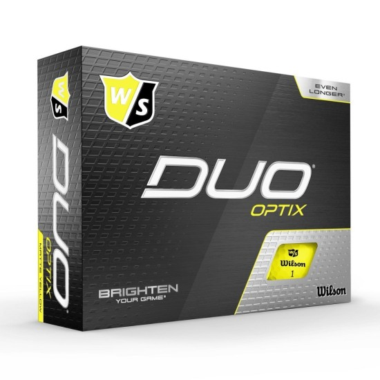 Wilson Staff Duo Soft+ Golf Balls (Yellow)
